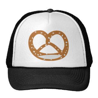 baker pretzel bakery logo symbol cap