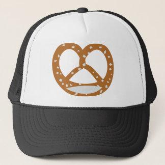 baker pretzel bakery logo symbol trucker hat
