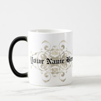 Baker Shield - Customisable with first name Morphing Mug
