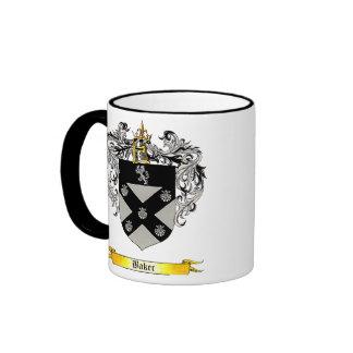 Baker Shield of Arms Ringer Mug