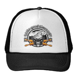 Baker Skull 1: Let the Good Times Roll Trucker Hat