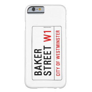 Baker Street Barely There iPhone 6 Case