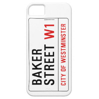 Baker Street iPhone 5 Covers