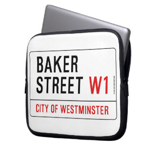 Baker Street Laptop Sleeve