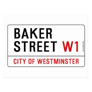 Baker Street Postcard