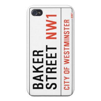 Baker Street (Sherlock) iPhone 4/4S Cases