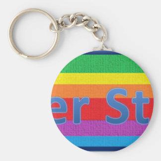 Baker Street Style 1 Key Ring