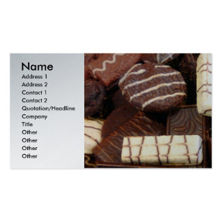 Baker - Who wants cookies Business Card Templates