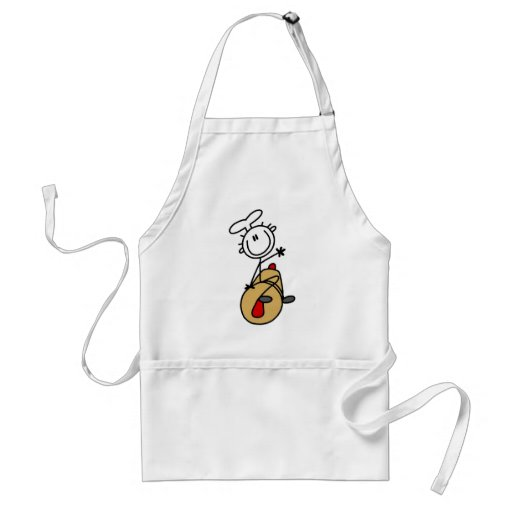Baker with Rolling Pin Apron