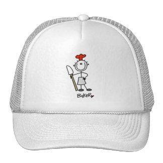 Baker With Scraper Hats