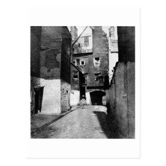 Bakerhouse Close Canongate Edinburgh 1854 Post Cards