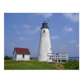 Bakers Island Light Postcard