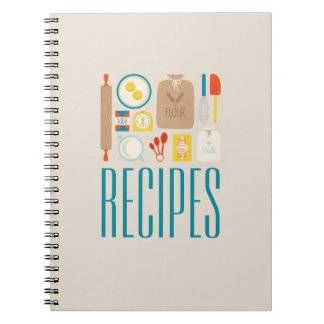 Baker's Recipes Note Books