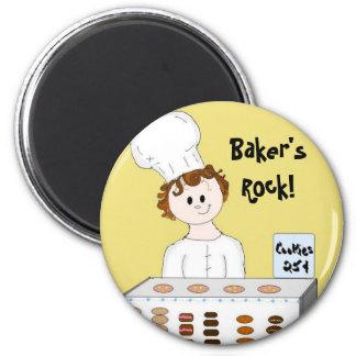 Bakers Rock Magnet