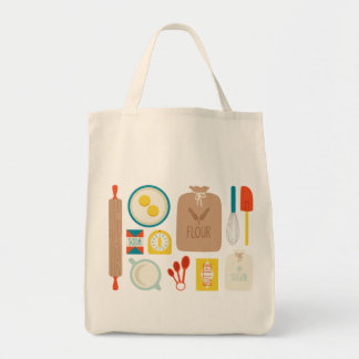 Baker's Supplies Grocery Tote Bag