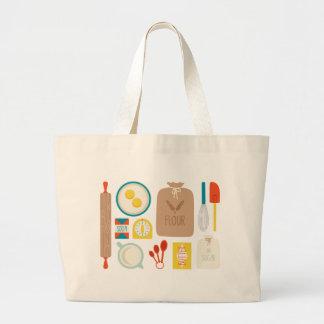 Baker's Supplies Jumbo Tote Bag