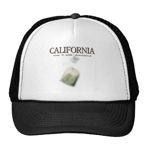 Bakersfield California Tea Party Mesh Hat