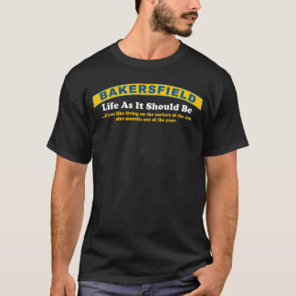 Bakersfield: Surface of the Sun (Dark Apparel) T-Shirt
