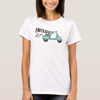 Bakersfield T-shirt - Moped Scooter