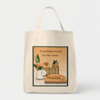 Bakery Baked Bread Grocery Tote Bag