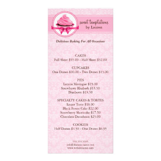 Bakery Business Rack Cards