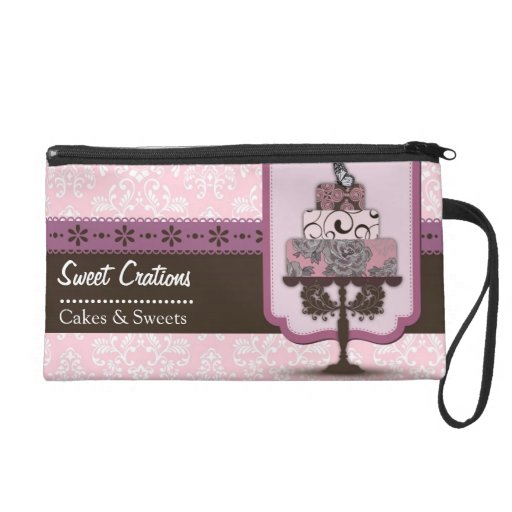 Bakery/Cakes/Sweets Creations Wristlet Clutch