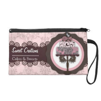 Bakery Cakes Sweets Creations Wristlet Purses