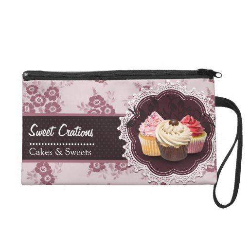 Bakery/Cakes/Sweets Creations Wristlet Clutches