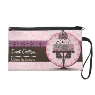 Bakery/Cakes/Sweets Creations Wristlet Purse