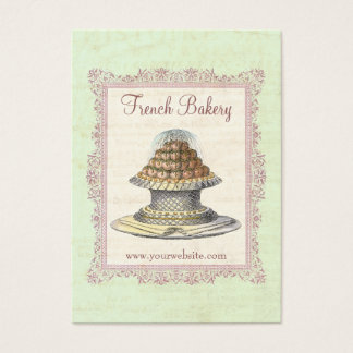 Bakery, Candy Shop, Elegant Vintage Business Card