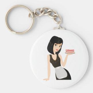 Bakery Chef Key Ring
