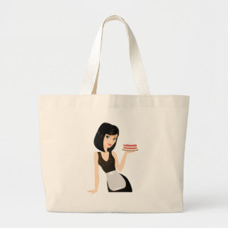Bakery Chef Tote Bags