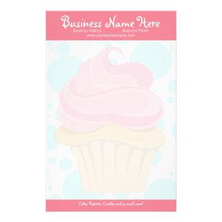 Bakery Cupcake Stationary Stationery