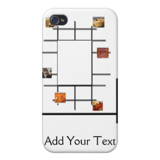 Bakery Divergence iPhone 4 Cases