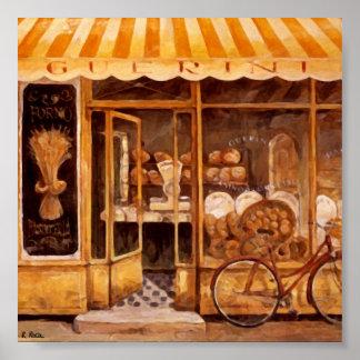 Bakery Guerini Hornear (Italy) Original Atwork Poster