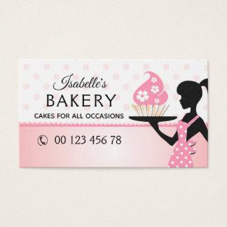 bakery, handmade cakes, pastry, handmade business card