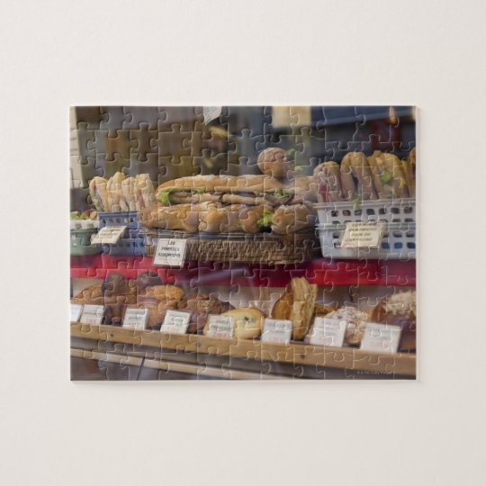 Bakery in Paris Jigsaw Puzzle