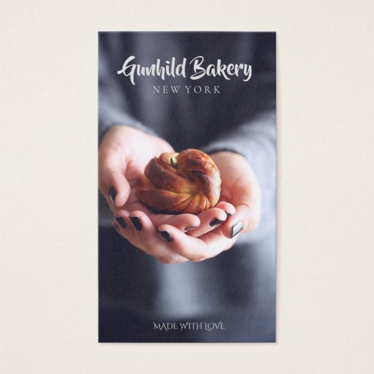Bakery - Made with love Business Card