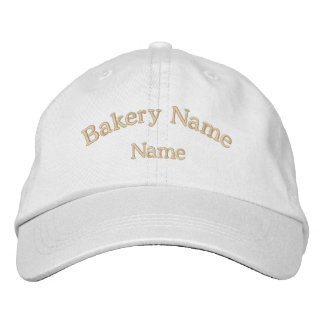 Bakery Name Embroidered Hat