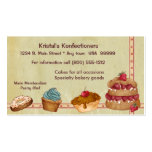 Bakery or Cake Business Card