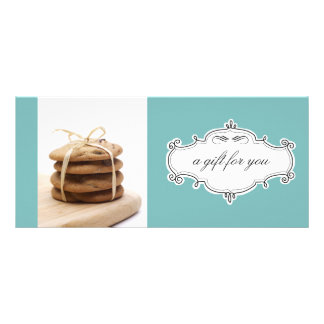 Bakery or Cookie Business Gift Certificates Custom Rack Cards