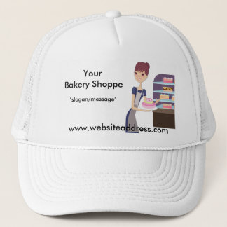 Bakery/Pastry Shop 4 Design Trucker Hat