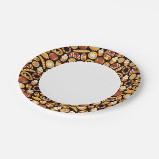 Bakery products 7 inch paper plate