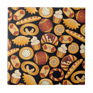 Bakery products tile