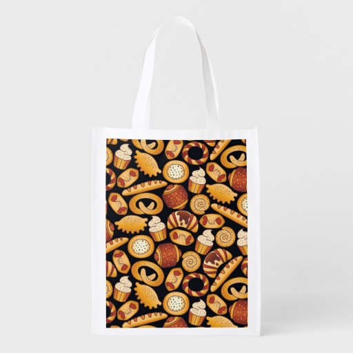 Bakery products market totes