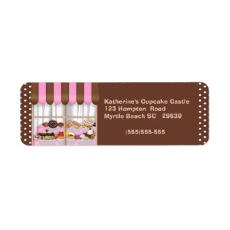 Bakery Return Label Return Address Label
