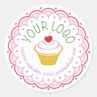 "Bakery Round Sticker Seals 1.5"" Custom Printed"