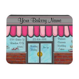 Bakery shop custom business referral magnet