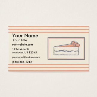 Bakery Sketch Business Card