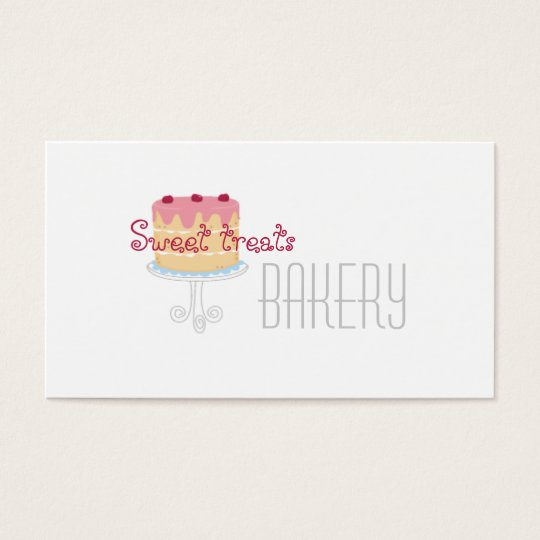 Bakery Template Business Card